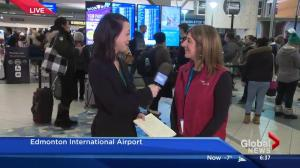 How Edmonton International Airport manages busiest day of year