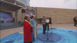 The Canadian Museum for Human Rights has its opening ceremony