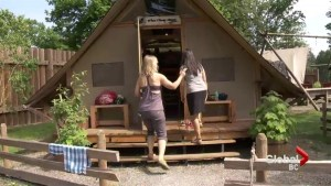Fort Langley Historic Site offers camping opportunities for families
