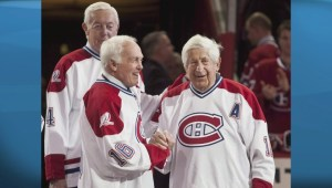 Habs' great, Henri Richard, battling Alzheimer's
