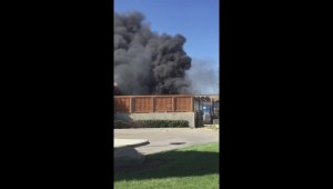 Viewer Video: Fire at Deerfoot Meadows shopping centre