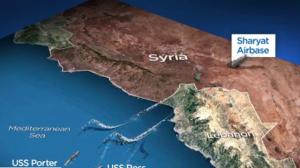 U.S. attacks Syrian government airbase