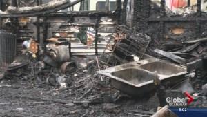 Fire destroys Summerland camping trailer