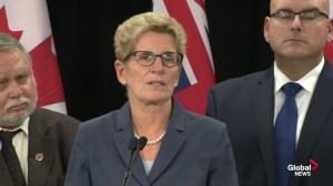 Wynne: I'm not going to second-guess sentence to Sebastien Prosa