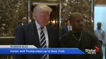 Trump, Kanye meet to talk about 'life'