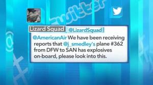 Threatening tweet forces passenger flight to be diverted