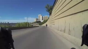 Time-lapse video shows Edmonton police bike patrol officers hitting the streets