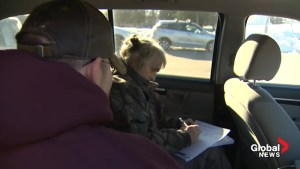 No room in medical clinic, New Brunswick doctor sees patients in parking lot