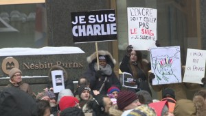 Rallies supporting France held across Canada