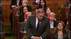 Mulcair asks Harper how long the crisis in Iraq will last
