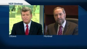 Extended interview: Tom Mulcair