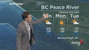 BC Evening Weather Forecast: Jan 7