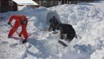 PEI man digs giant snow tunnel to car