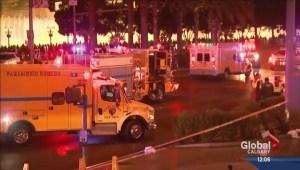 Calgarians recall close call in Las Vegas