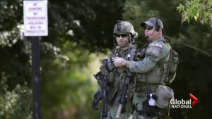 Manhunt continues for suspected cop killers