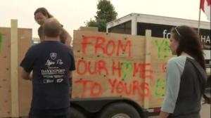 Fort McMurray fire survivors come to aid of B.C. wildfire evacuees.
