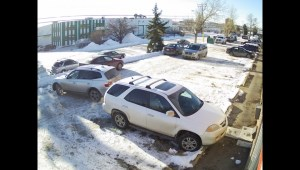 WATCH: Raw video of Calgary's worst driver