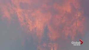 Harrison Lake wildfire
