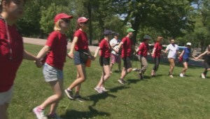 Spirit Walk takes place in Mont-Royal