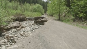Merritt residents concerned about damage caused by breach of local dam
