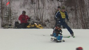 Slide and Ride program gives Edmontonians with disabilities a ski experience