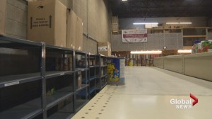 Veterans food bank desperate for donations as holidays approach