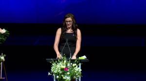 'She was a true optimist': Tawny Poelzer remembers friend Sara Baillie