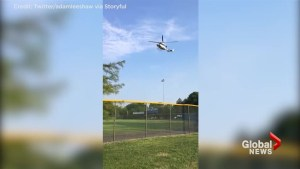 Medevac chopper arrives after GOP Congressman, aides shot at during baseball practice