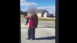Video showing disturbing case of animal cruelty in central Manitoba community shared on social media