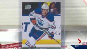 Connor McDavid rookie card
