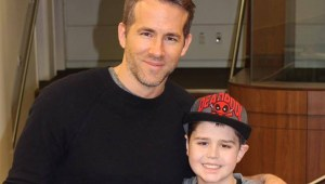 Ryan Reynolds brings Deadpool movie to Edmonton boy with Leukemia