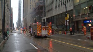 Toronto fire and hydro investigate cause of downtown fire