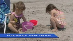 Outdoor play essential for kids growing up in a wired world