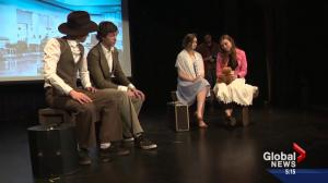 Student play in Beaumont bridges generations