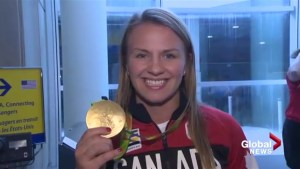 Gold medal wrestler Erica Weibe could be headed to WWE