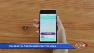 Vancouver-based carpool app expands service area