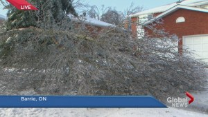 Massive ice storm leaves over 100,000 in southern Ontario without power
