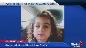 Calgary Amber Alert and suspicious death are linked