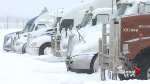 Travel advisories make highway truck-stops a popular place
