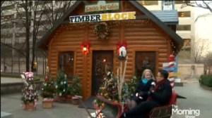 Visiting Santa's Village