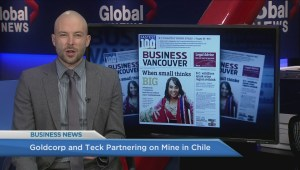 BIV: Goldcorp and Tech partnering on mine in Chile