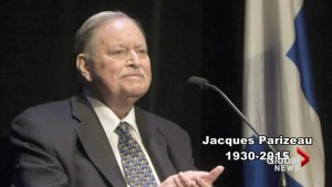 Former Quebec premier Jacques Parizeau remembered