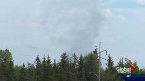 Wildfire near Fox Creek forces people to flee their homes
