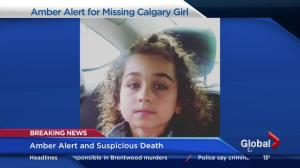 Amber Alert and suspicious death in Calgary