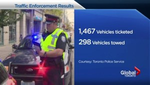 Toronto mayor reacts to 4 day traffic enforcement blitz