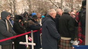 Field of Crosses ceremony in Calgary