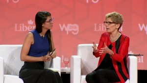 Wynne accepts apology from Wildrose Party over Facebook comment