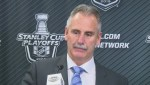 Canucks-Flames Game Six: Willie Desjardins