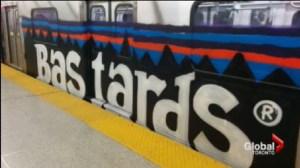 Grafitti on the TTC