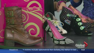 Calgary Shoe Designer showcases latest collection